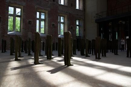 Magdalena Abakanowicz at St. Elisabeth Church. Zak|Branicka gallery