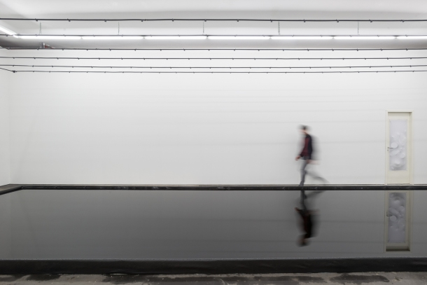 Belu-Simion Fainaru, Rose of Nothingness, 2015, installation, courtesy of Galeria Plan B, Berlin