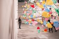 Pascale Marthine Tayou, Plastic Tree , art basel 2015, photo: Kristina Kulakova