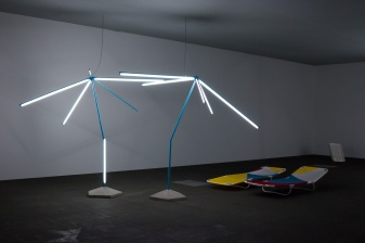 Martin Boyce, We are Resistant, We Dry Out in the Sun , art basel 2015, photo: Kristina Kulakova