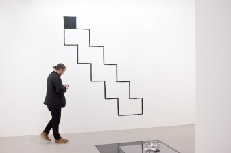 Gallery Stuart Shaeve/ Modern Art (London) , art basel 2015, photo: Kristina Kulakova