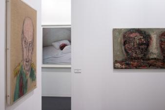 Anthony Reynolds Gallery (London) , art basel 2015, photo: Kristina Kulakova