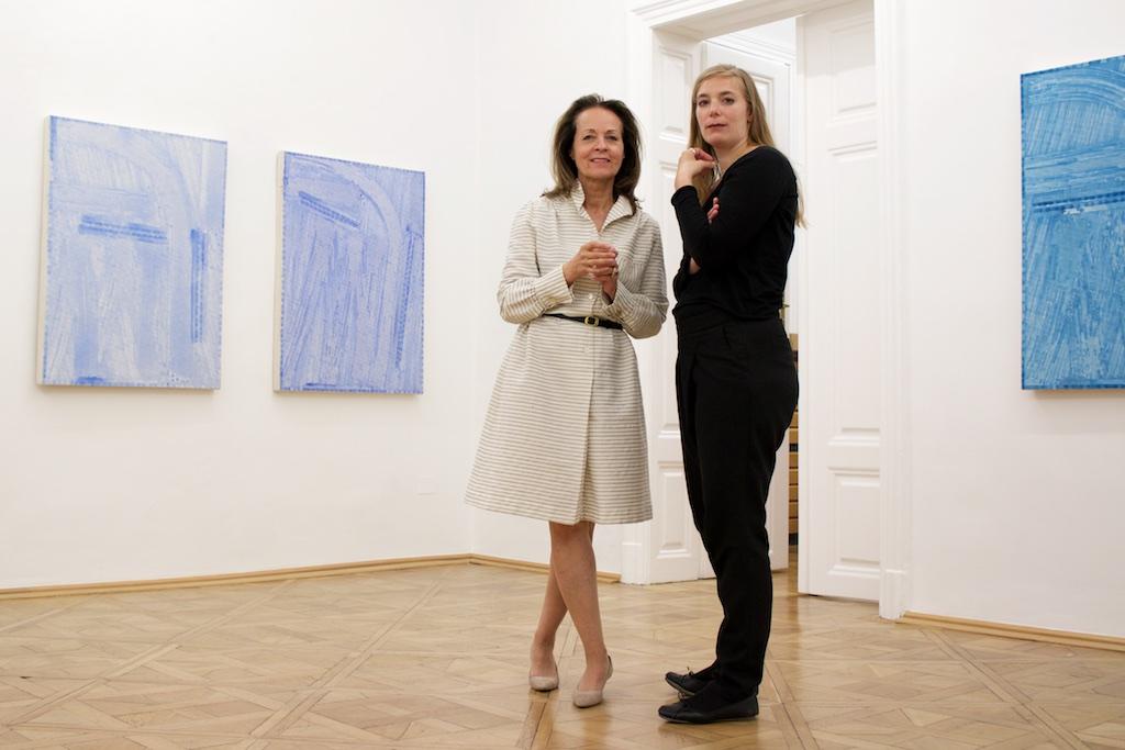 Rosemarie Schwarzwälder and Melani Harl