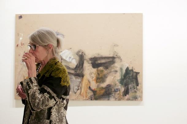 Martha Jungwirth at Galerie Krinzinger