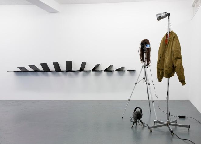 Albert Mayr, Installation view, Galerie Martinetz, Cologne 2015, photocredit: Tamara Lorenz