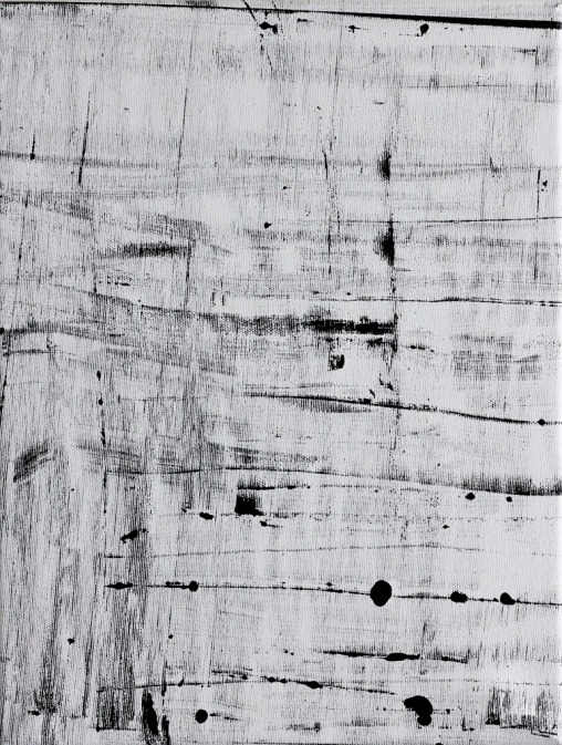 Jakub Czyszczon, Untitled, 40x30cm, offset paint on canvas, 2012, Stereo Gallery, photocredit: courtesy of the artist