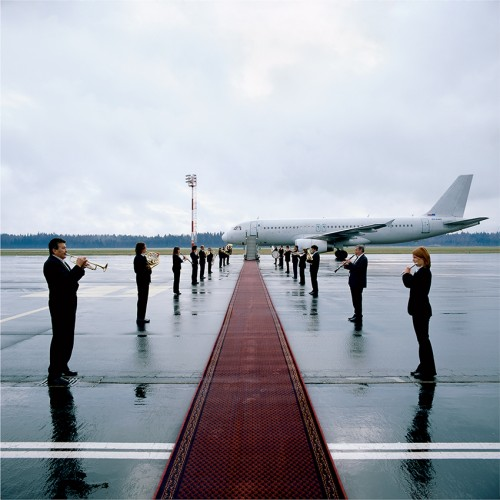 Jasmina Cibic, Boutique Airports II, Print , 30 x 30 cm, Galerija Škuc, 2006, photocredit: courtesy of the artist