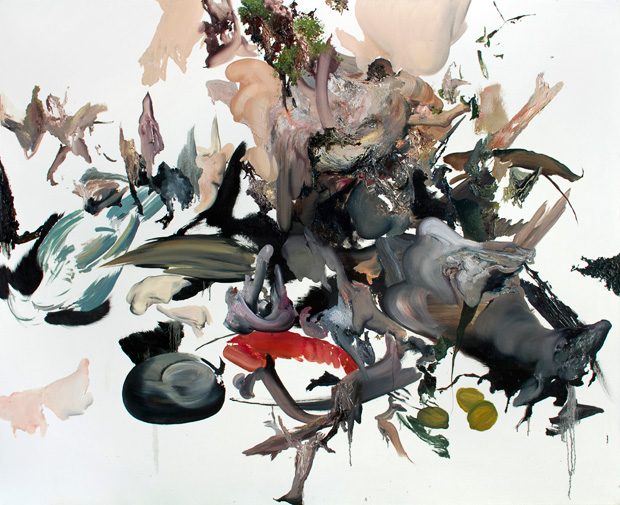 Kamil Kukla, Untitled (by F. Snyders), oil on canvas, 120x140cm, 2014, Knoll Gallery, photocredit: courtesy of the artist