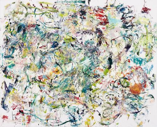 Matthias Schaufler, Nude Spoons, Painting, 170x210 cm, 2013, Galerie Hammelehle und Ahrens, photocredit: courtesy of Matthias Schaufler