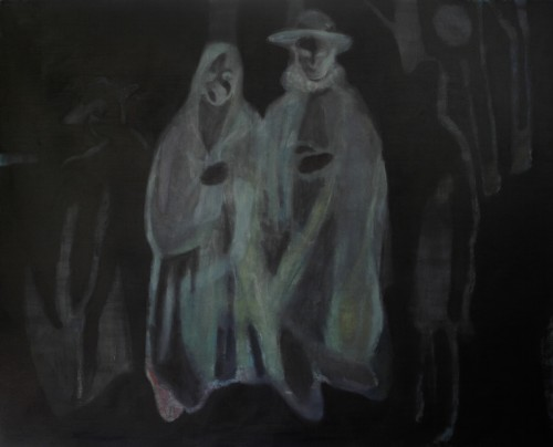 Nebojša Despotović, Second Marriage, Painting, 170 x 210 x 4 cm, 2014, Boccanera, photocredit: courtesy of the artist