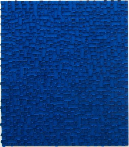 TchunMo Nam, Beam_b, mixed media on canvas, 2015, courtesy: AANDO FINE ART