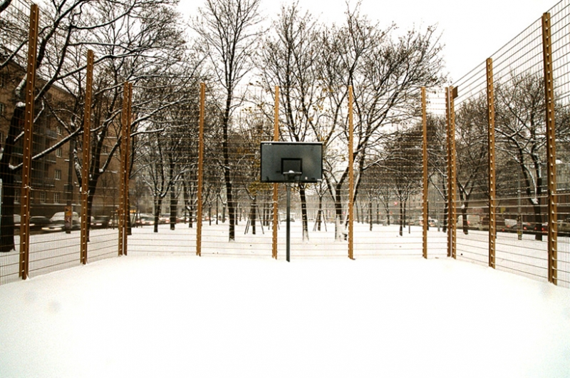 Clemens Wolf, All that glisters is not gold. Permanent intervention in public space, Vienna, 2010