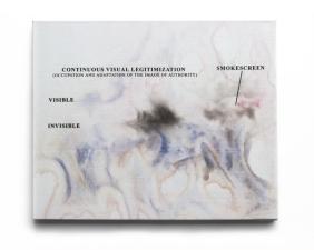 Ivan Grubanov, From the evil painter series, 2013, Acryl und Siebdruck auf Leinwand , 50cm x 60cm, courtesy Loock Galerie, Berlin