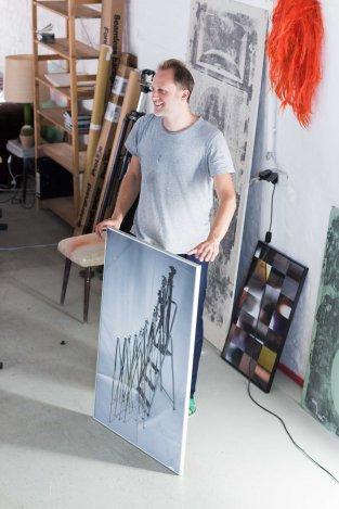 Albert Mayr studio visit