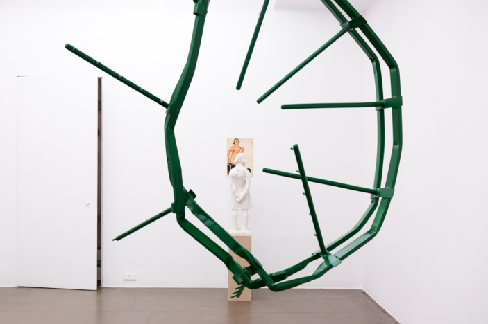 NOTES ON SCULPTURE, curated by Friederike Nymphius. Galerie Krobath