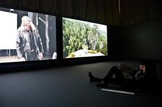 «VIDEO HOLES: I do not know what it is I am» exhibition, 2012