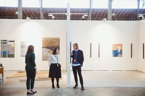 Anne Ebner (Kerstin Engholm Galerie) & Felix Gaudlitz (Galerie Emanuel Layr)