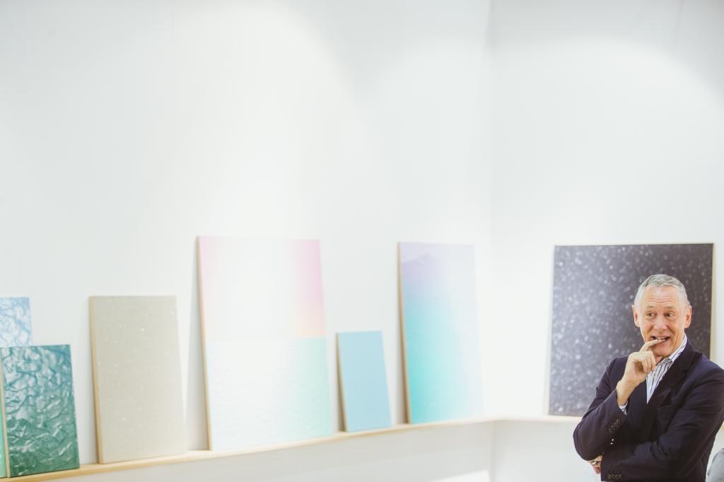 LISTE Basel's Director Peter Bläuer