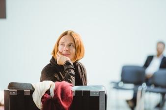 TBA21's head curator Daniela Zyman