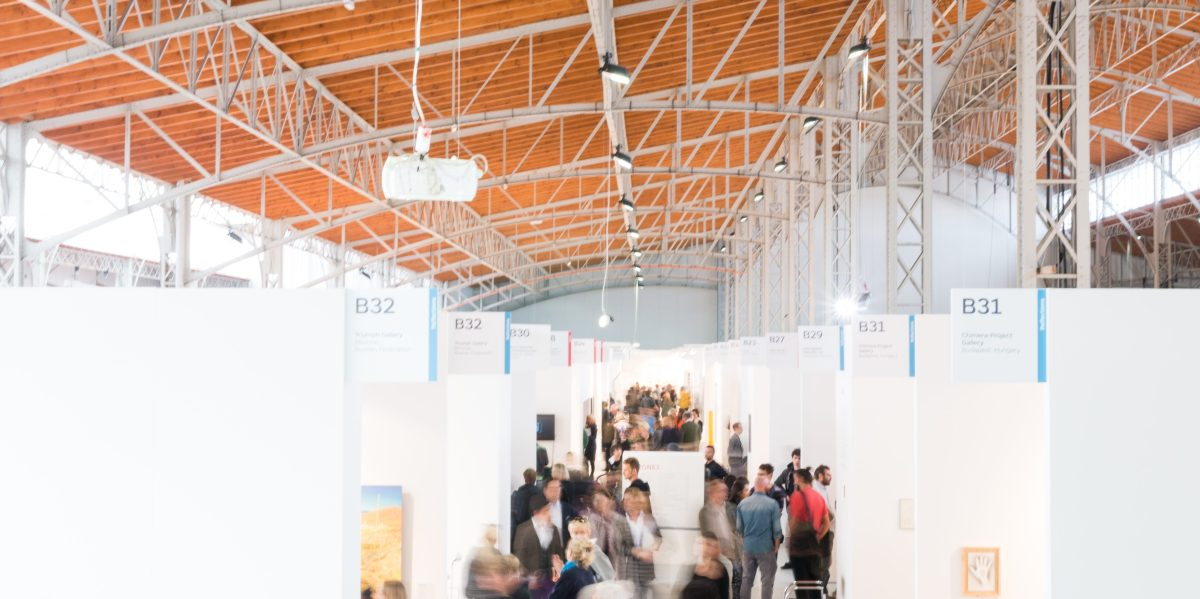 Gallerists at viennacontemporary 2015
