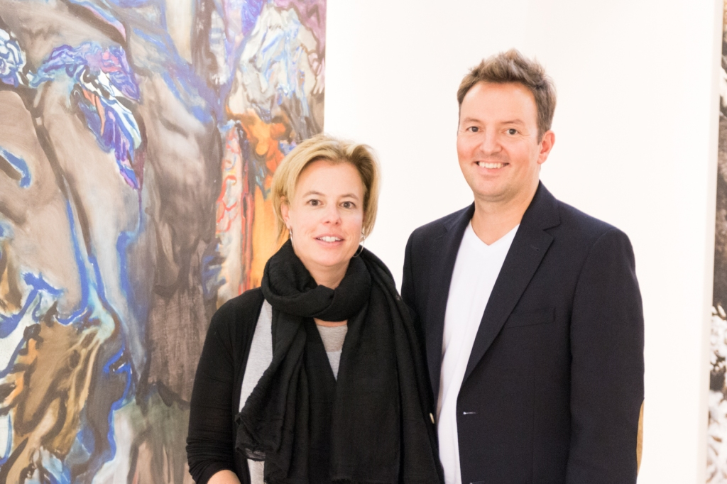 Eva-Maria Becher, Robert Kastowsky, photo: Kristina Kulakova, viennacontemporary