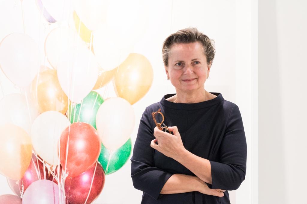 Christine König, photo: Kristina Kulakova, viennacontemporary