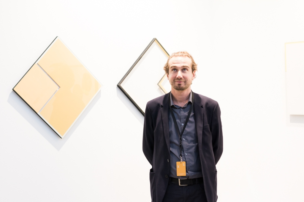 Andreas Huber, photo: Kristina Kulakova, viennacontemporary