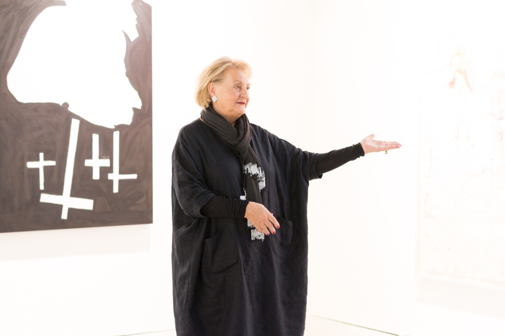 Ursula Krinzinger, photo: Kristina Kulakova,viennacontemporary