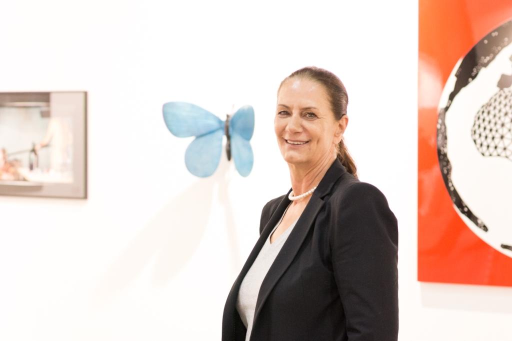 Petra Schilcher , viennacontemporary, photo: Kristina Kulakova