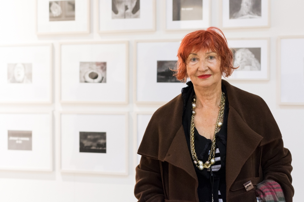 Heike Curtze, photo: Kristina Kulakova, viennacontemporary
