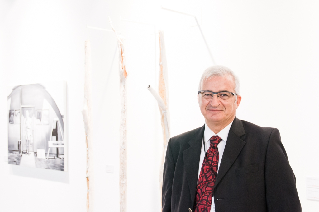 Moiz Zilberman, photo: Kristina Kulakova, viennacontemporary
