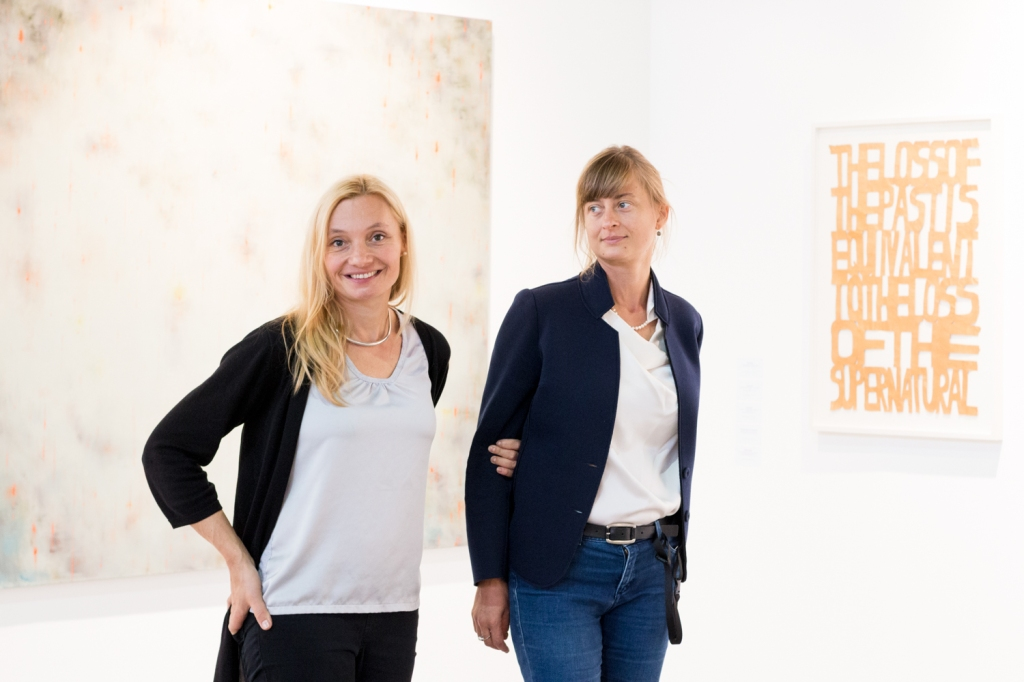Asia Zak-Persons and Monika Branicka, photo: Kristina Kulakova, viennacontemporary