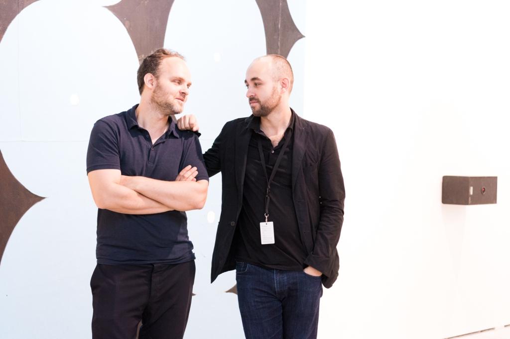 Nikolaus and Raphael Oberhuber, photo: Kristina Kulakova, viennacontemporary
