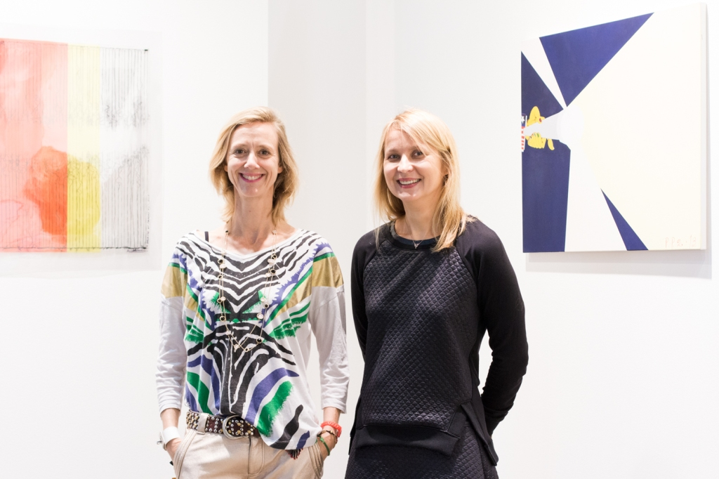 Eleonore Senlis Lafeuille and Ekaterina Iragui, photo: Kristina Kulakova, viennacontemporary