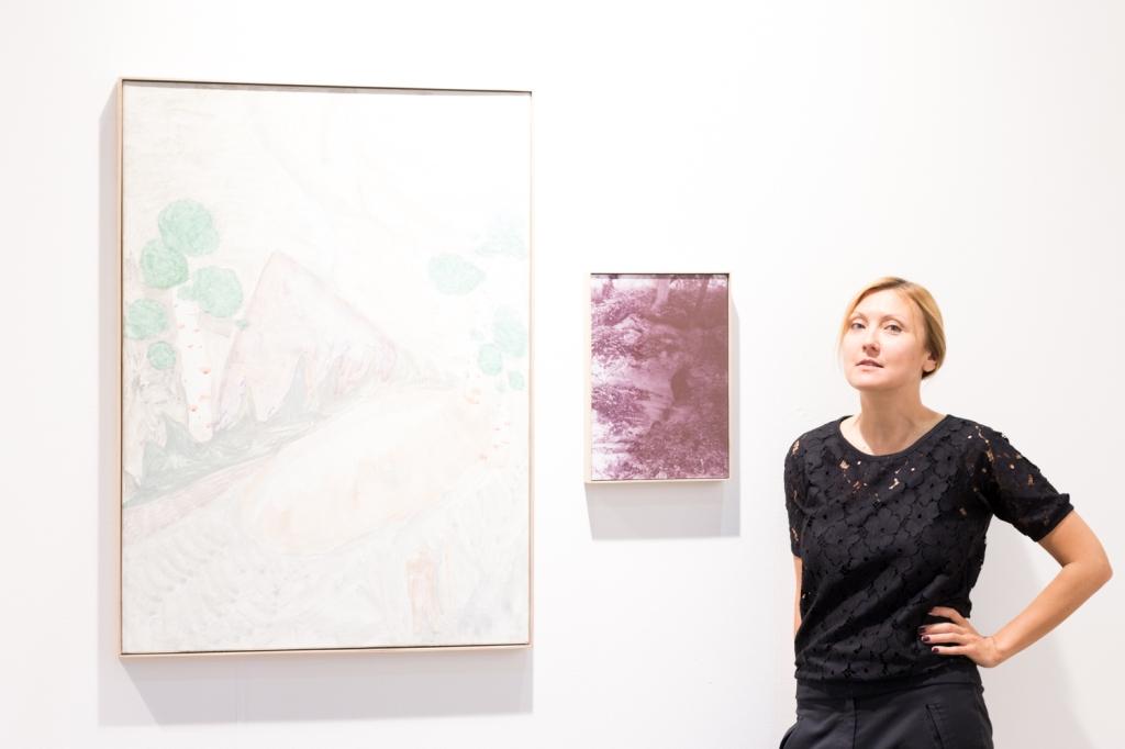 Olga Temnikova, photo: Kristina Kulakova, viennacontemporary