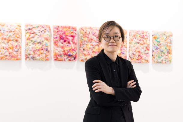 Sungwon Lee, photo: Kristina Kulakova, viennacontemporary