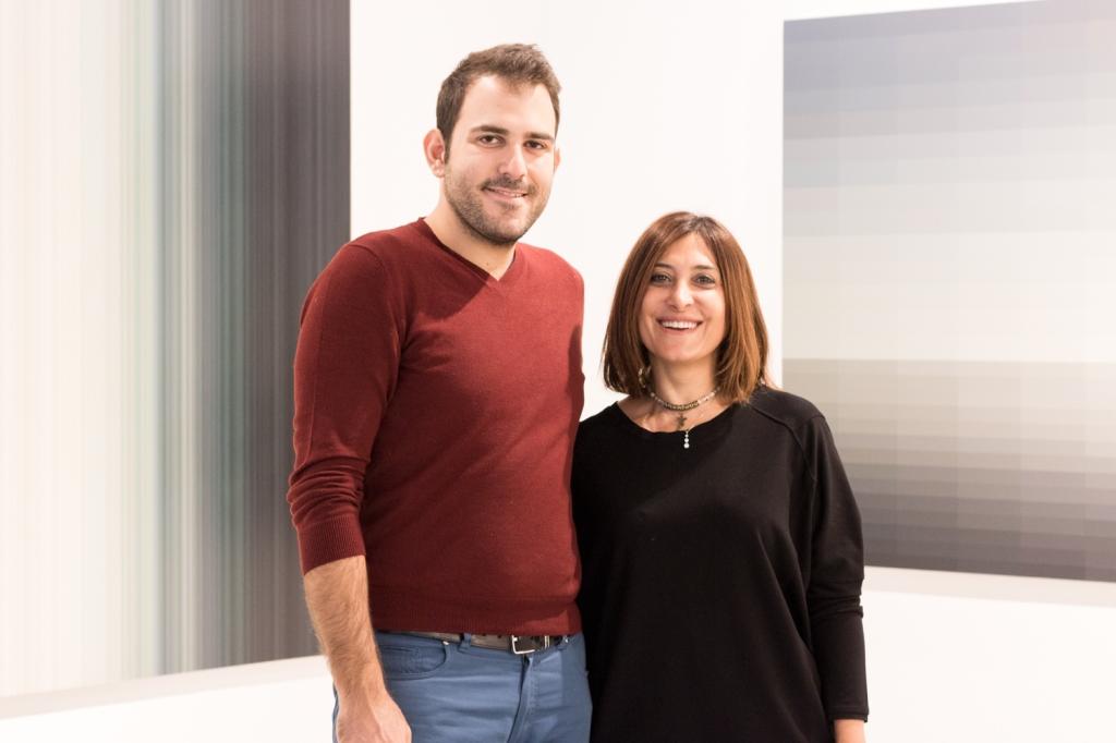 Aonan Yerebakan and Feza Velicangil, photo: Kristina Kulakova, viennacontemporary