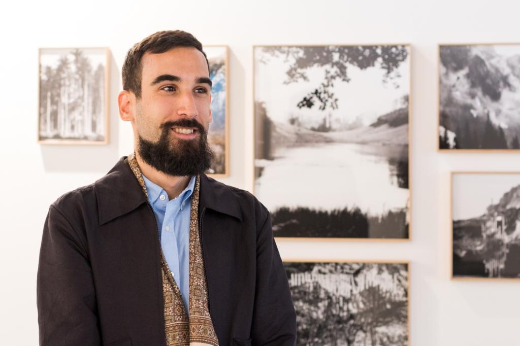 Vladimir Vidmar, photo: Kristina Kulakova, viennacontemporary