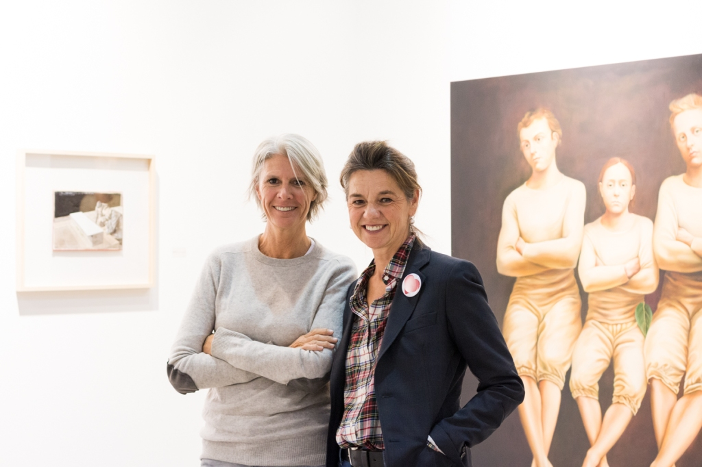 Yasmine M. Geukens and Marie-Paule J.M. De Vil, photo: Kristina Kulakova, viennacontemporary