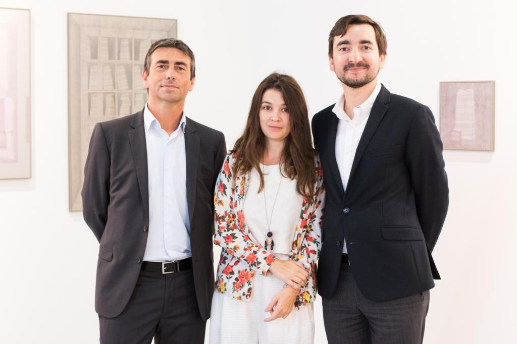 Jean -Vincent Le Moal, Raluca Soaita and Andrei Breahna, photo: Kristina Kulakova, viennacontempoary