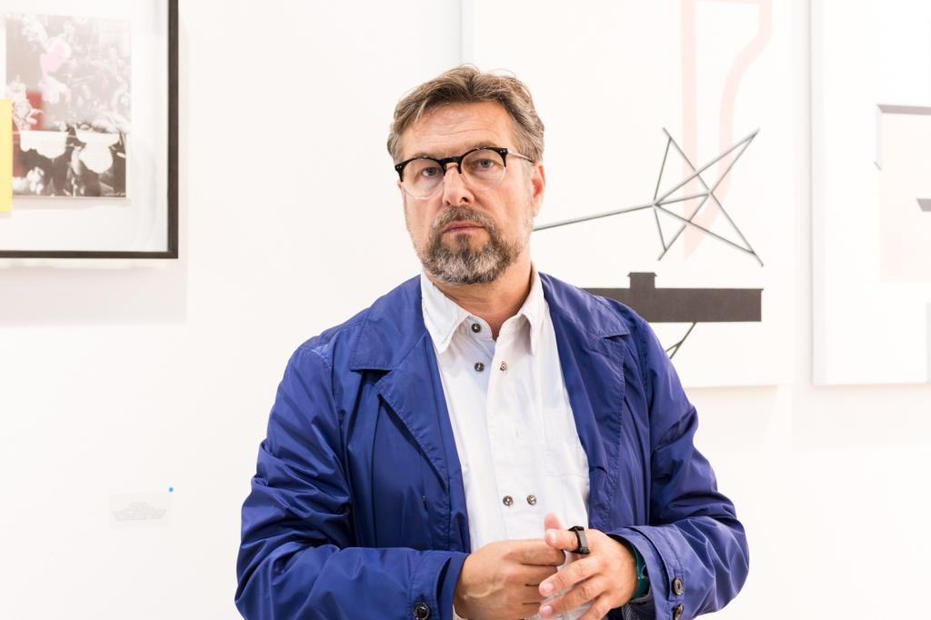 Horst Georg Ambacher , photo: Kristina Kulakova, viennacontemporary