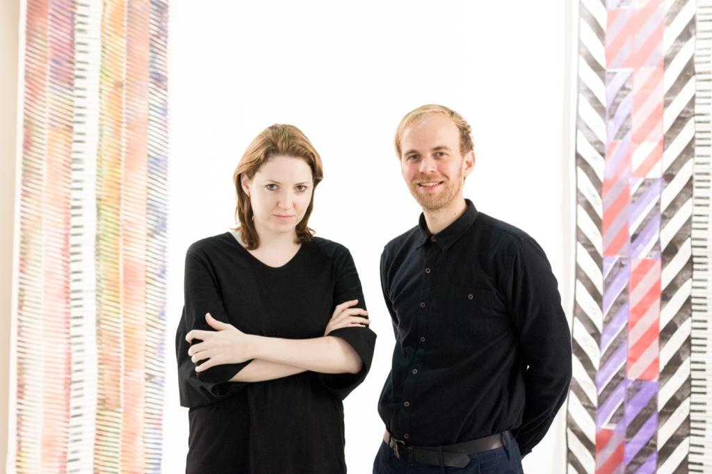 Boggi Mittich and Patrick Urwyler, photo: Kristina Kulakova, viennacontemporary