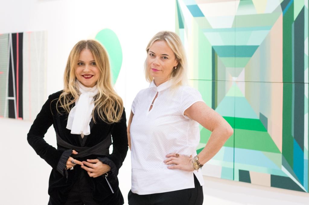 Elvira Tarnogradskaya and Nadia Stepanova