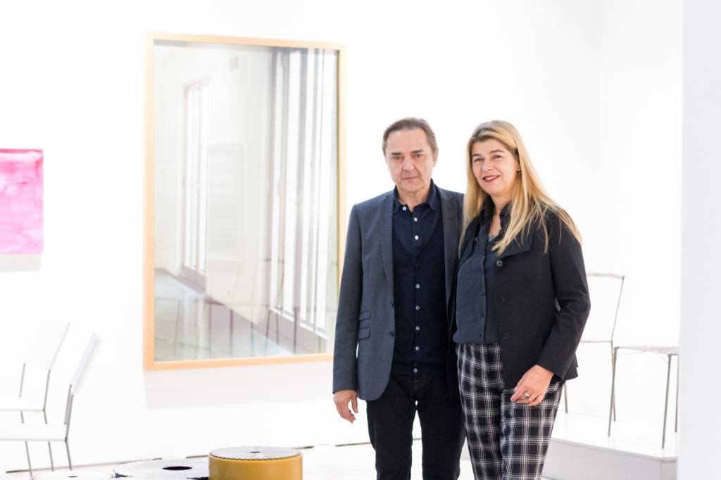 Elisabeth & Klaus Thoman, photo: Kristina Kulakova, viennacontemporary