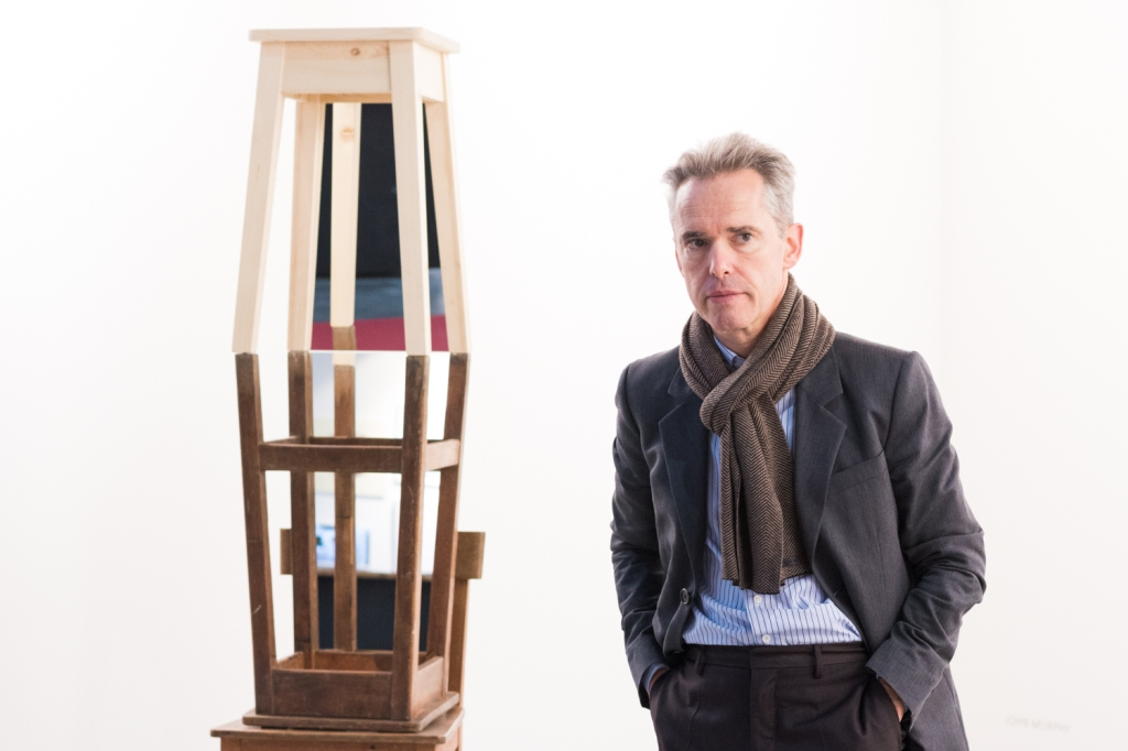 Bernard Bouche, photo: Kristina Kulakova, viennacontemporary