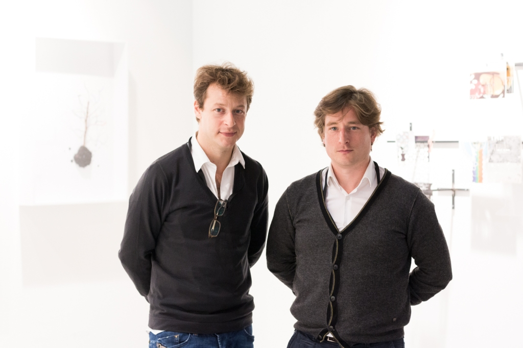 Alexandre Deletchine and Gregory Thirion, photo: Kristina Kulakova, viennacontemporary