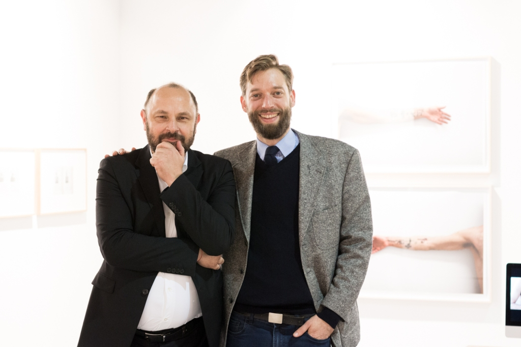 Markus Peichl and Cornelis van Almsick, photo: Kristina Kulakova, viennacontemporary