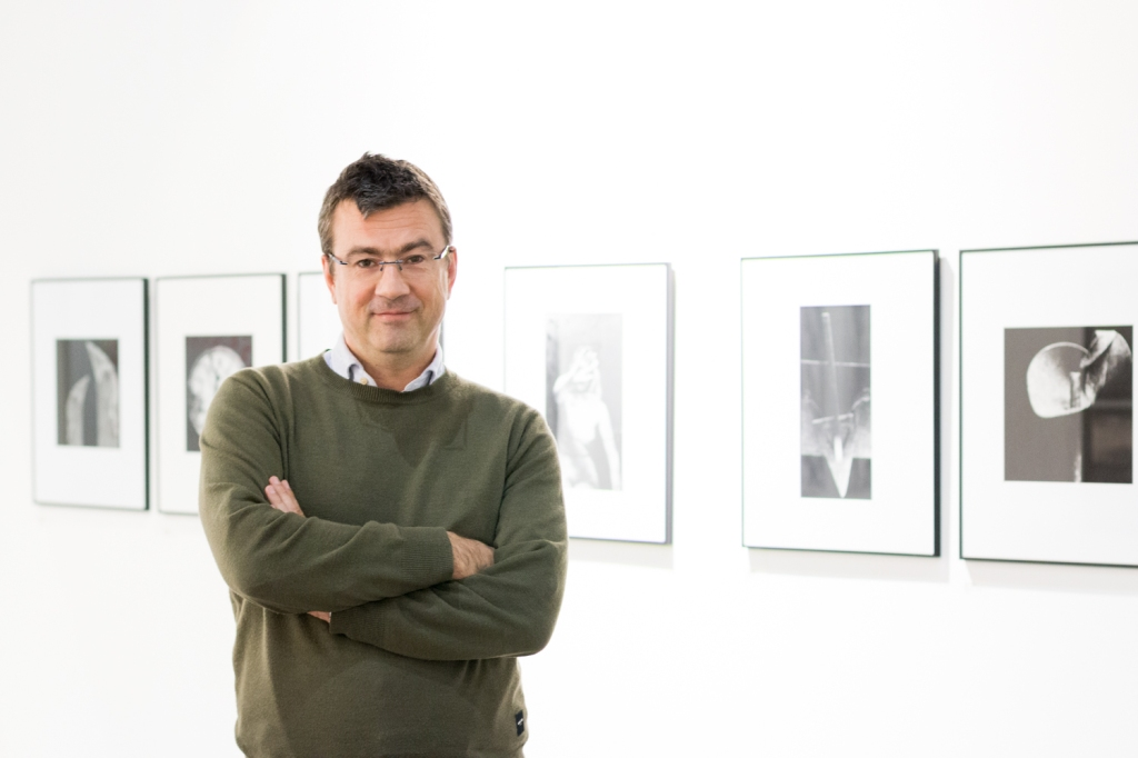 Dejan Sluga, photo: Kristina Kulakova, viennacontemporary
