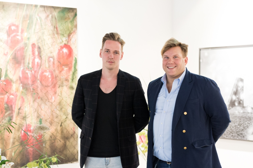 Fabian Ziegler and André Schlechtriem, photo: Kristina Kulakova, viennacontemporary