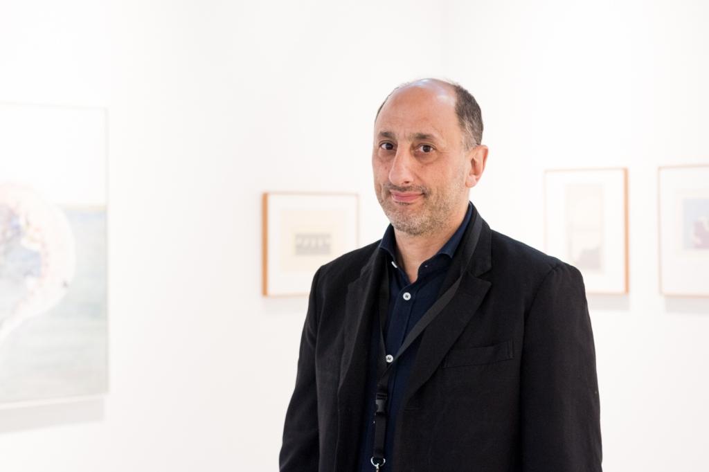 Richard Saltoun, photo: Kristina Kulakova, viennacontemporary